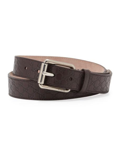 Micro Guccissima Belt