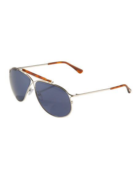 Magnus Metal Aviator Sunglasses