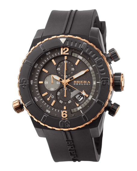 Sottomarino Diver Watch, Black