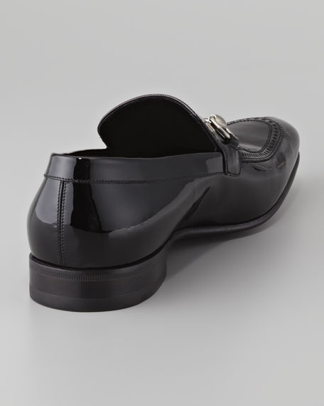 Patent Horsebit Loafer