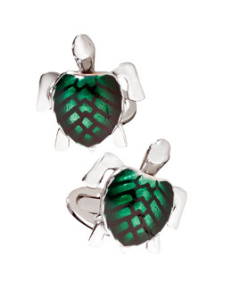 Jan Leslie Turtle Cuff Links