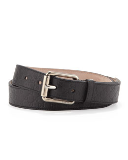 Gucci Belt with Square Buckle