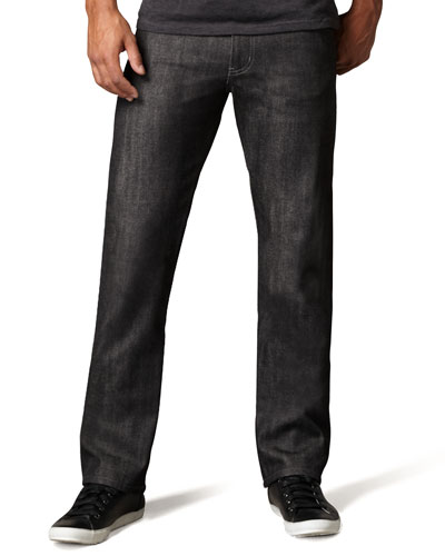 Naked and Famous Denim SlimGuy Black Selvedge Jeans