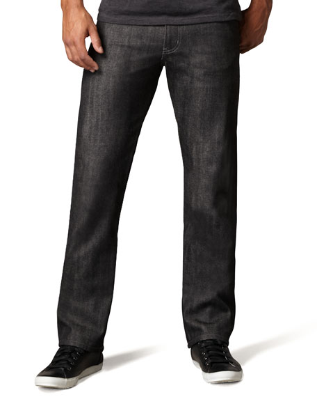 Naked and Famous Denim SlimGuy Black Selvedge Jeans