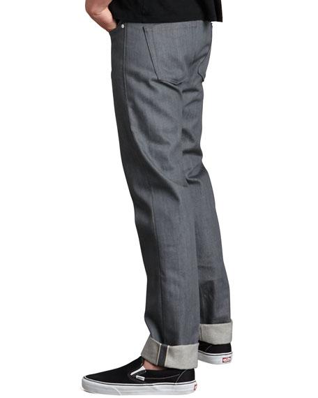 WeirdGuy Gray Selvedge Jeans