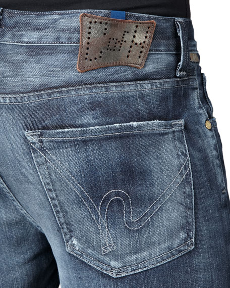 Sid Standard Straight-Leg Jeans