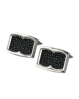 Stephen Webster Stingray-Texture Cuff Links