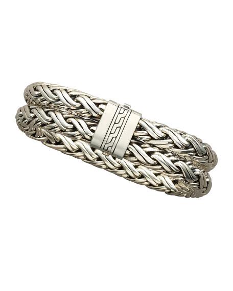 Double Woven Chain Bracelet