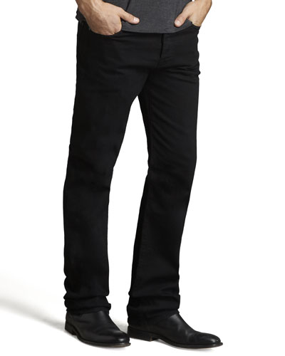 7 For All Mankind Standard Black Out Jeans