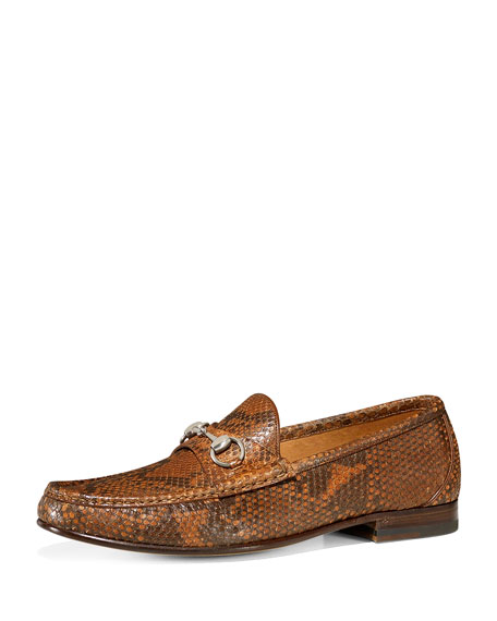 Classic Python Bit Loafer