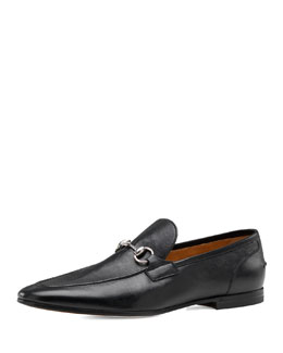 Gucci Power Bit Loafer, Black