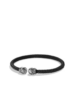 David Yurman Maritime Cuff in Black