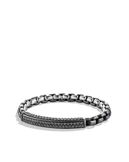 Streamline Bracelet, Black Diamonds