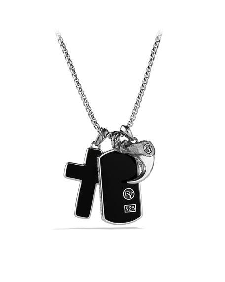 David Yurman Amulet Necklace, Black Onyx