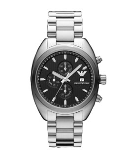 Emporio Armani Stainless Steel Sportivo Watch