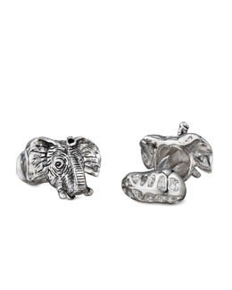Robin Rotenier Elephant Cuff Links