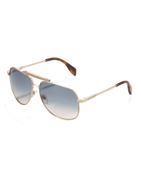 Wood-Bridge Aviator Sunglasses