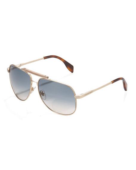 Wood-Bridge Aviator Sunglasses