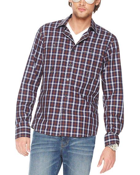 Narok Check Multi-Pocket Shirt