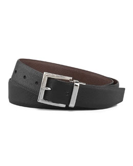 Prada Saffiano Reversible Belt