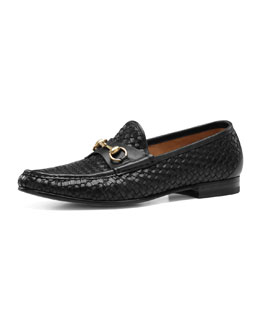 Gucci Hannover Leather Loafer