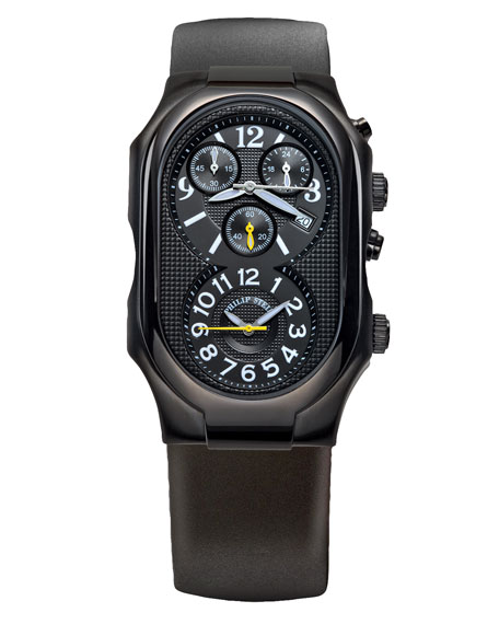 Oversized Signature Chronograph Watch