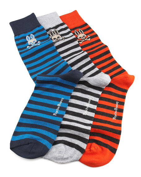 Rep-Stripe Socks