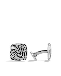 David Yurman Iron Wood Cuff Links