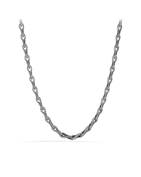 "Chevron Link Necklace, 7mm, 22""L"