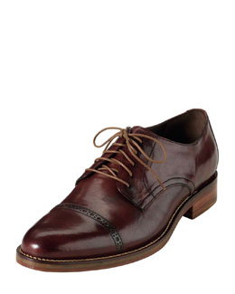 Cole Haan Air Madison Cap-Toe, Dark Brown