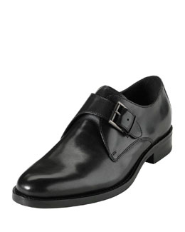 Cole Haan Air Madison Monk-Strap Loafer, Black