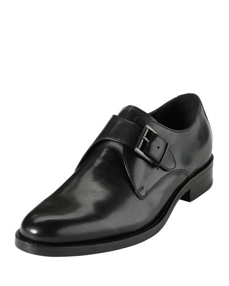 Air Madison Monk-Strap Loafer, Black