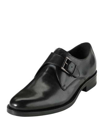 Air Madison Monk-Strap Loafer, Black
