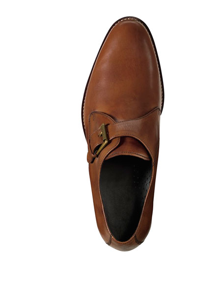 Air Madison Monk-Strap Loafer, British Tan