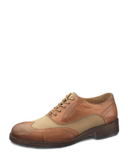 Wolverine Bromley Brogue Oxford, Chestnut