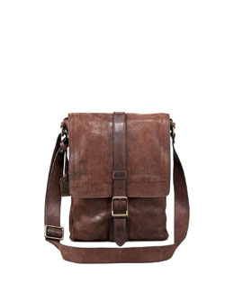 Frye Logan Leather Messenger Bag, Small