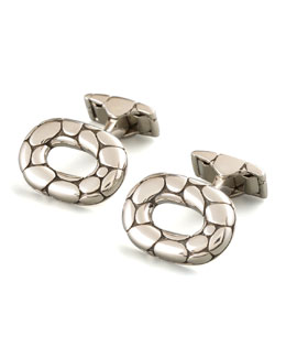 John Hardy Kali Oval Cuff Links