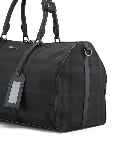 Nylon Boston Duffel Bag