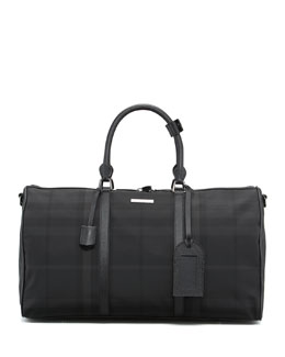 Burberry Nylon Boston Duffel Bag