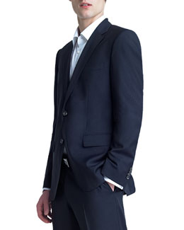 Boss Hugo Boss Basic Two-Button Suit, Navy