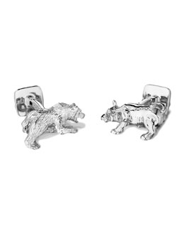 Robin Rotenier Bull & Bear Cuff Links