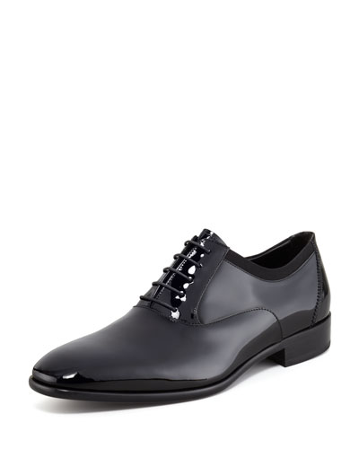 Salvatore Ferragamo Aiden Patent Oxford