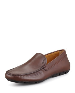 Prada New Novo Calfskin Driver, Brown