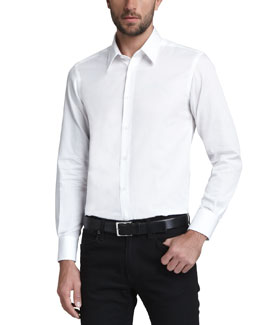 Versace Collection Basic Woven Shirt