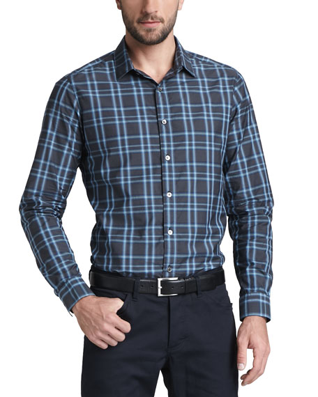 Plaid Sport Shirt, Flumet