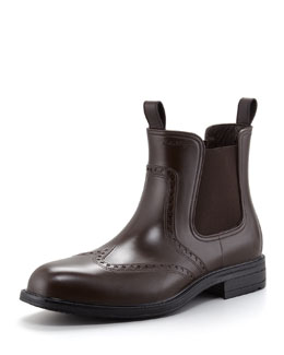 Salvatore Ferragamo Balmoral Waterproof Wing-Tip Boot