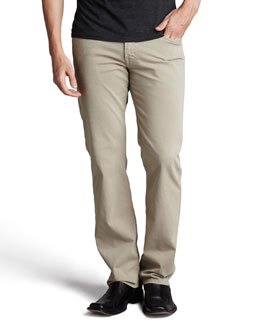 AG Adriano Goldschmied Protege Pants, Corn Silk
