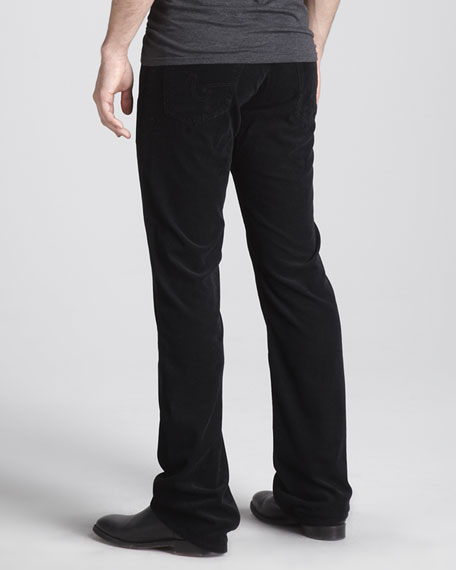Protege Corduroy Pants, Super Black