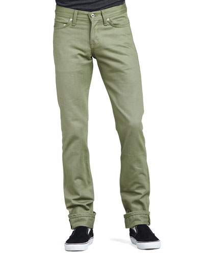 Naked and Famous Denim WeirdGuy Selvedge Chino Pants