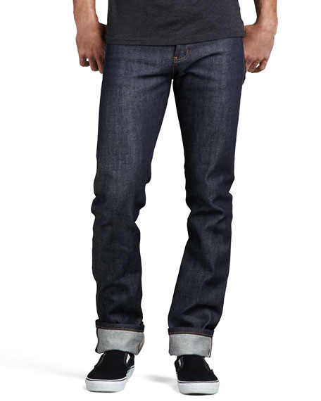 Skinny Guy-Dirty Fade Selvedge Jeans